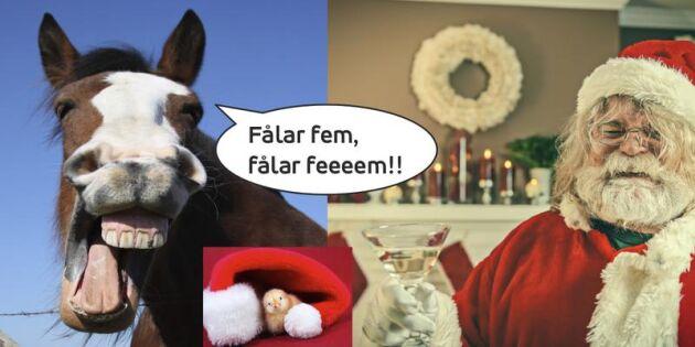 """""""Han vattna sina fålar fem"""" Detta sjunger vi egentligen i våra mest folkkära julsånger"""