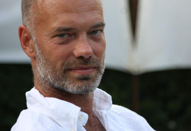 Niklas Hjulström, teaterchef för Västmanlands teater och regissör för föreställningen Den stora branden.