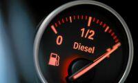 Dieselpriset upp för första gången på en månad