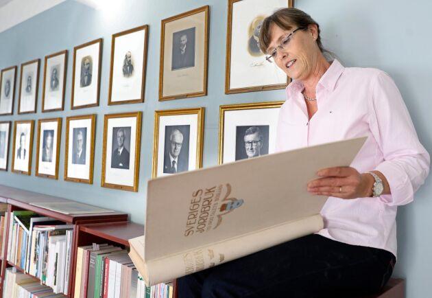 Eva Pettersson, vd för Kungliga Skogs- och Lantbruksakademien, KSLA, som är en av flera aktörer inom jord- och skogsbruk som delar ut stipendier.