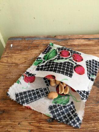 Smart liten påse för snacks eller spröda kex.