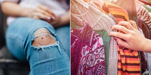 Helt nya kläder i garderoben OCH renare miljö - här är tricket!