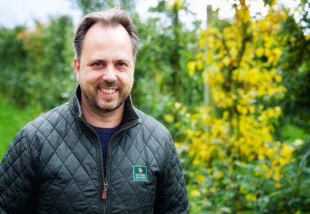 Kiviks Musteris odlingschef Jan Flemming Jensen.