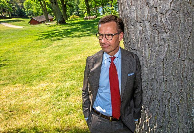 Med en moderat som statsminister i höst kommer bönderna att märka skillnad, lovar Ulf Kristersson.