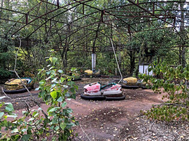Den 1 maj 1986 skulle en ny nöjespark ha invigits i Pripyat.