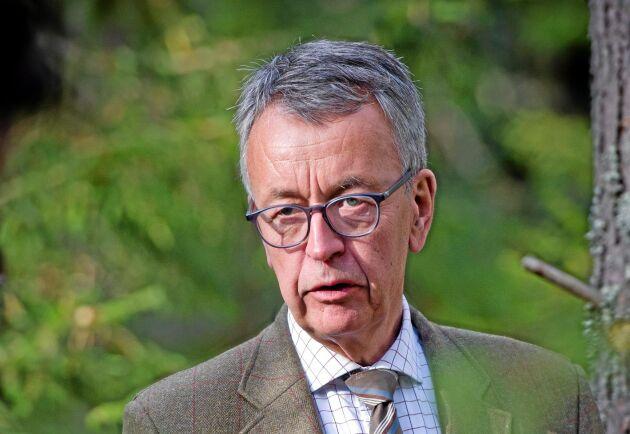 Per-Olof Wedin, VD för Sveaskog.