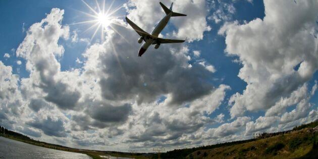 Regeringen vill skapa jobb med flygskatt