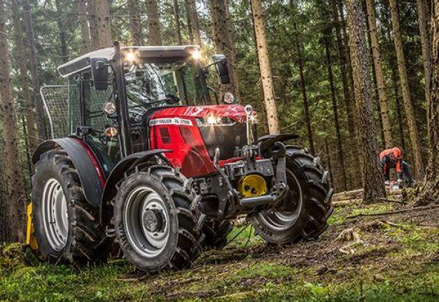 Massey Ferguson släpper tre nya traktorer i Alipinserien, MF 3700 AL.