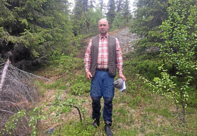Erland Johansson, skogsförvaltare.