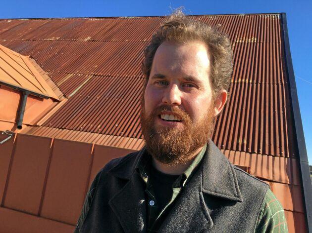 """Emil Jacobsson från Östergarnslandet väckte motionen att slopa termen """"EU-stöd""""."""