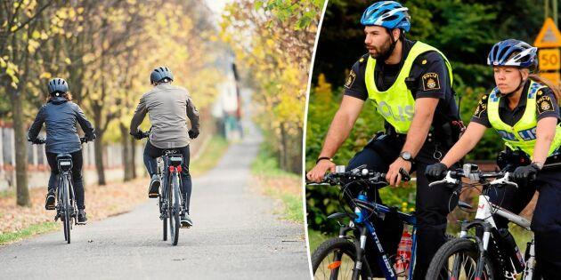Cykelreglerna du bör ha koll på – och det här kan ge dig böter