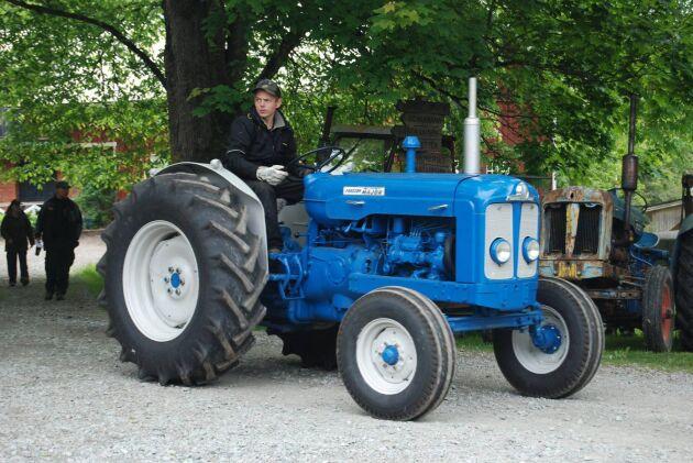 Pontus Fransson och ännu en blänkande blå.