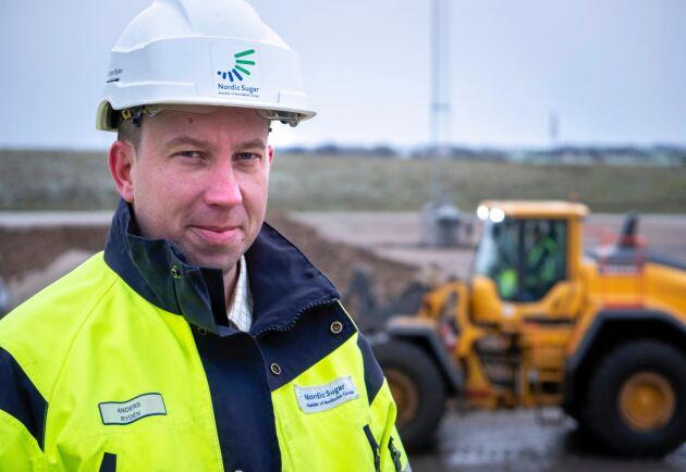 Anders Rydén, chef för Agricenter på Nordic Sugar i Örtofta, menar att det nya arealbaserade kontraktet är både enklare och mer ekonomiskt för betodlarna.