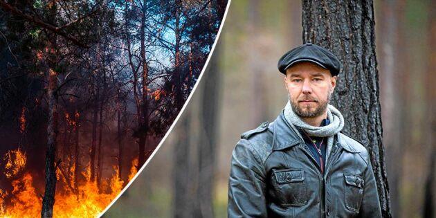 """""""Efter branden står de små skogsägarna kvar i askan"""""""