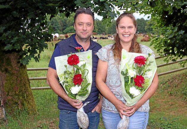 2018 års Spjutspetsföretagare Fredrik och Camilla Hilmersson, Qvisingö.