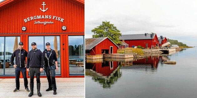 Kusinerna för yrkesfiske-arvet vidare