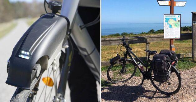 Passar på alla cyklar. Bygg om din mountainbike eller pendlingcykeln. Flytta motorn efter behov.