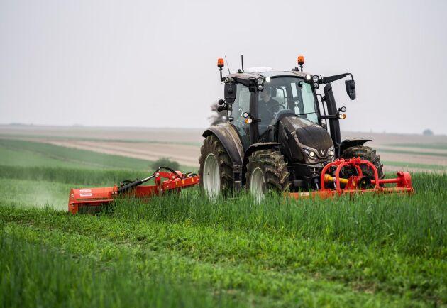 Kunden kan till stor del designa sin traktor själv.