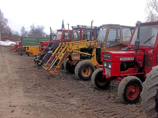 Ett flertal traktorer och andra maskiner klubbades under helgen.