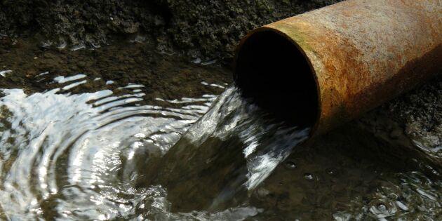 Avloppsvatten från 450000 hushåll rann ut i Östersjön