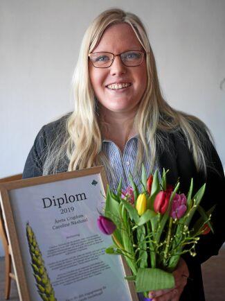 Caroline Näslund, Mellersta Ådalen, fick utmärkelsen Årets ungdom. Hon har de senaste åren visat ett starkt engagemang i LRF i Mellersta Ådalens lokalavdelning, Kramfors kommungrupp och LRF ungdomen.