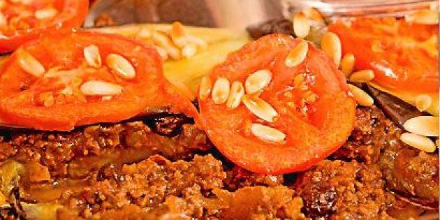 Håkans helgtips: Ugnsbakad aubergine och köttfärs på marockanskt vis