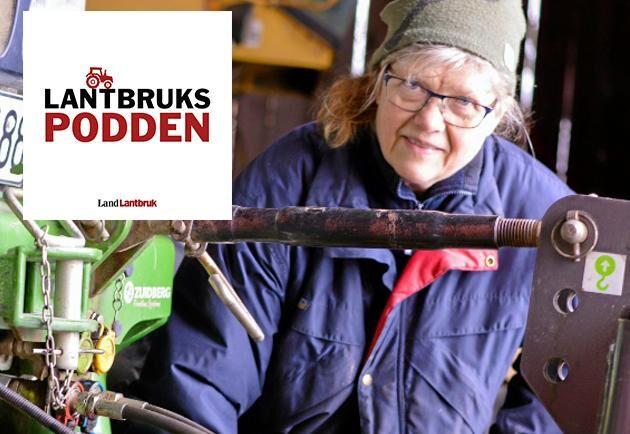 Elisabet Svensk, växtodlare sedan 25 år tillbaka.