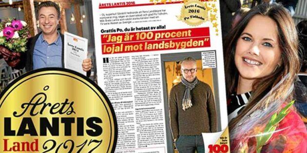 Årets lantis 2017: På måndag börjar nedräkningen!