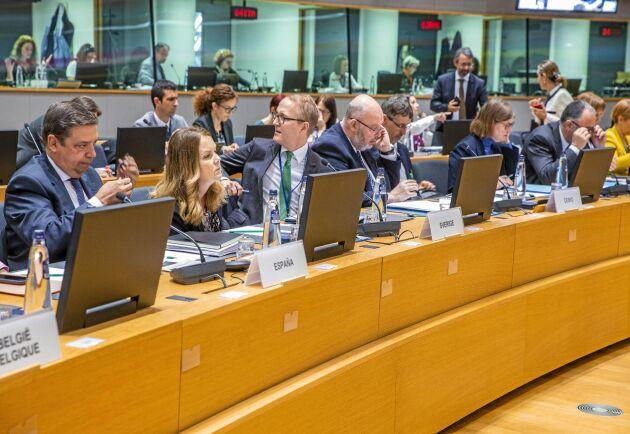 Landsbygdsministerns första jordbruksministerråd var ett bra exempel på att mötena ofta är en blandning av diskussioner på en allmän nivå och djupdykningar i frågor av intresse för en begränsad grupp av länder.