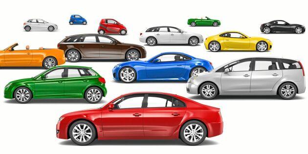 De 20 mest lättsålda begagnade bilarna