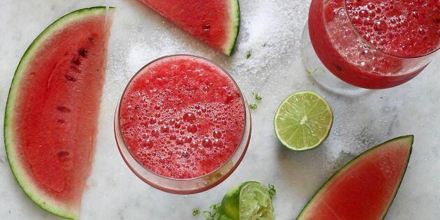 Melonslush – svalka i sommarhettan!