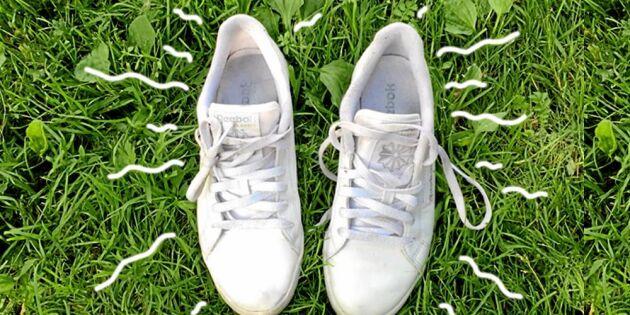 Bli av med dålig lukt i skorna! 3 smarta tips