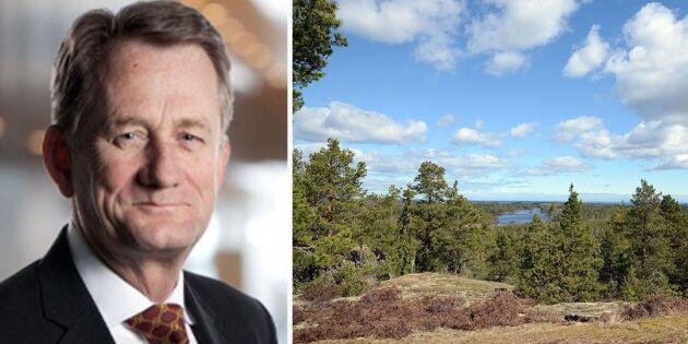 Skogsaffär för kvarts miljard