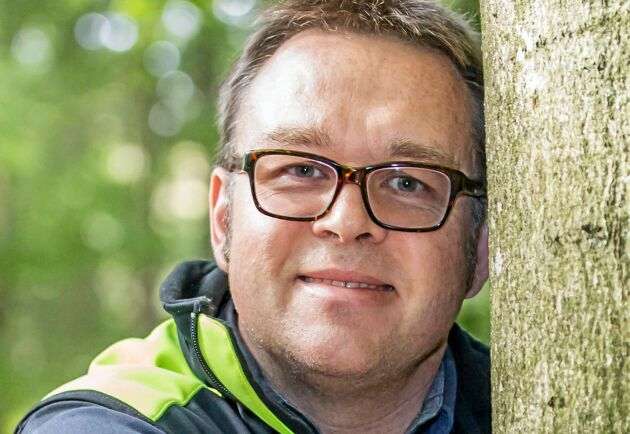 Fredrik Broberg är skogskonsulent på Skogsstyrelsen.