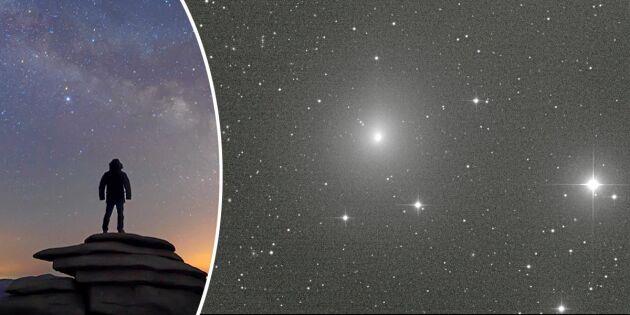 Kometen kommer! Då kan du se den hemma i Sverige