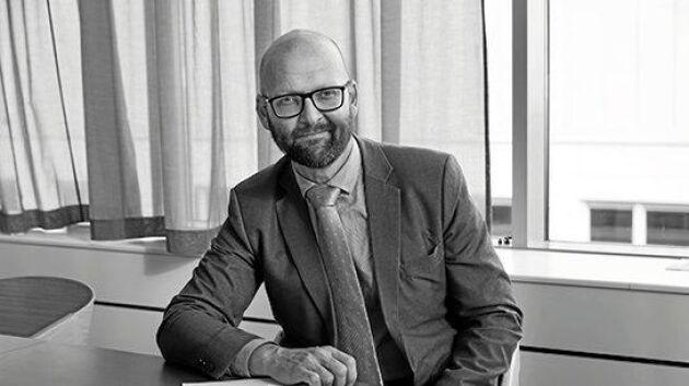 """Anders Bergqvist är generalsekreterare i Brandskyddsföreningen och ifrågasätter höga trähus – """"trendiga, snygga och klimatsmarta men hur brandsäkra är de?"""""""