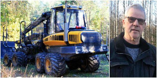 Extremåret slog mot lönsamheten i skogen