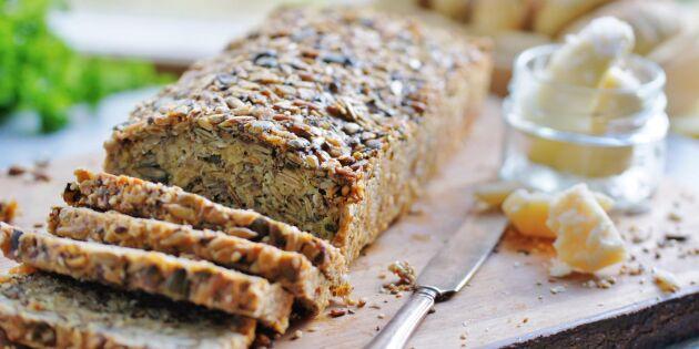 Mustigt havrebröd med frön – perfekt till frukost
