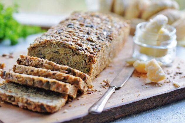 Havre- och fröbrödet innehåller varken jäst eller mjöl.