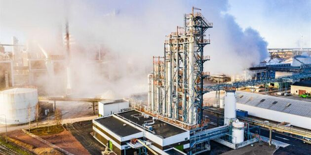 Nu är Södras biometanolfabrik i gång