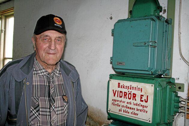 Ägaren till Silverforsens kraftstation, Gunnar Eriksson, avled 2017.