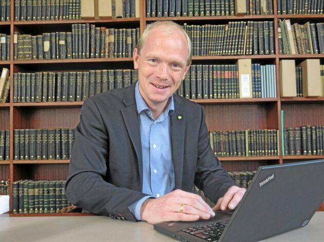 Jesper Broberg, förbundsdirektör Hushållningssällskapet.