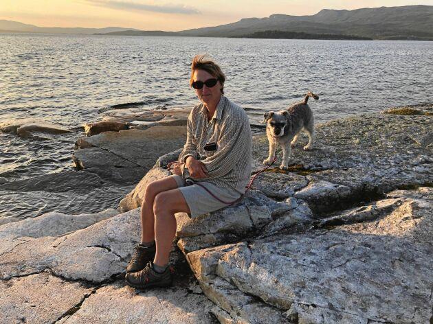 Numera kan Annika Tärström vandra och vara i fjällen igen.