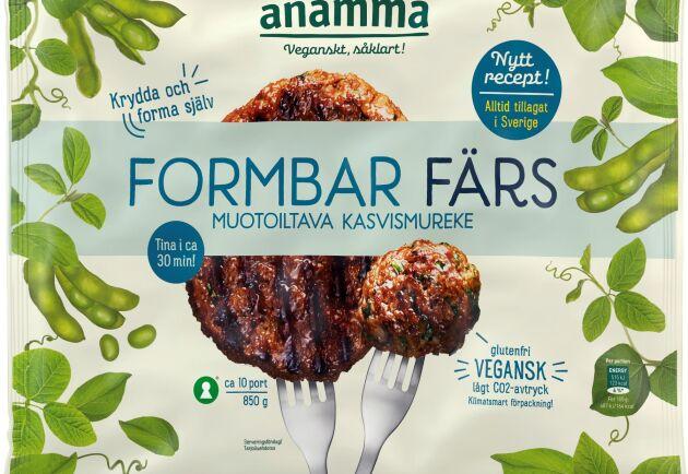 Anamma lanserar en formbar vegofärs.