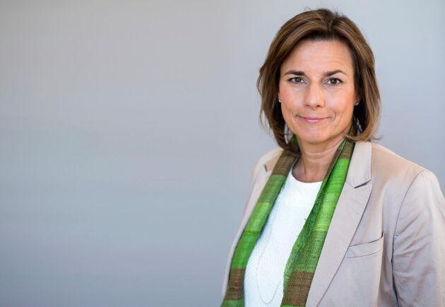 Isabella Lövin (MP) blir ny chef för Miljödepartementet.