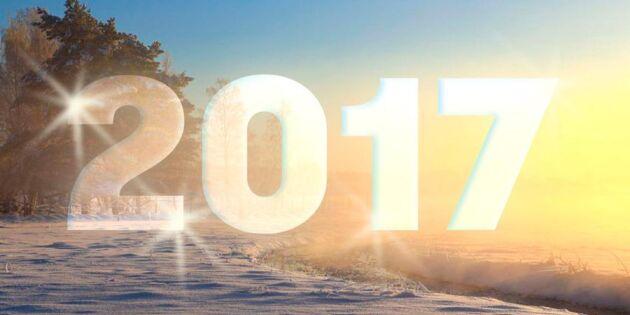 Gott nytt 2017! Här är 7 positiva nyheter som väntar det nya året