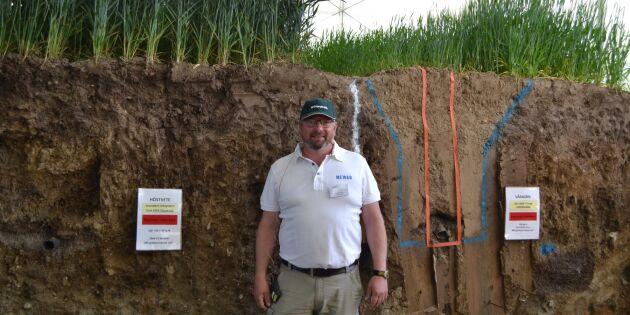Vattenfokus i årets grävning av Gropen