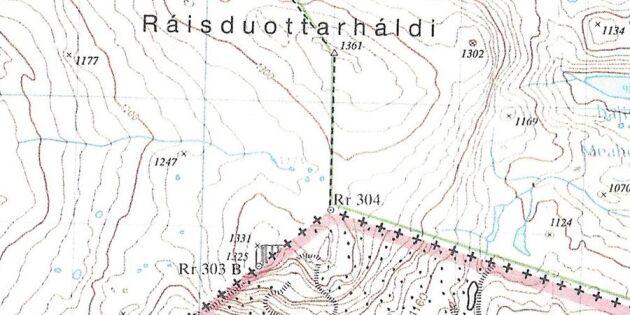 Finlands högsta berg kan bli högre – om Norge får bestämma