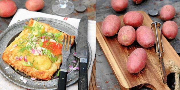 Frasiga potatistarteletter – så enkelt gör du lyxigaste smårätten