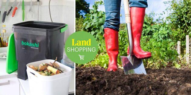 Bokashi – det här kan du kompostera och så fungerar det